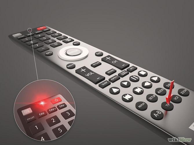programmation d'une télécommande universelle